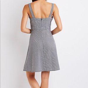 Gingham Cut Out Sun Dress (NEW)